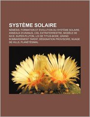 Syst Me Solaire - Source Wikipedia, Livres Groupe (Editor)