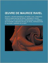 Uvre De Maurice Ravel
