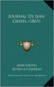Journal de Jean Grivel (1865)