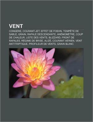 Vent - Source Wikipedia, Livres Groupe (Editor)