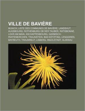 Ville De Bavi Re
