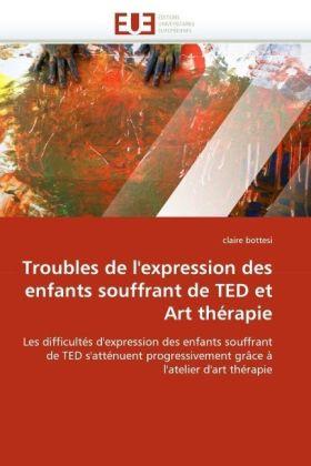 Troubles de l'expression des enfants souffrant de TED et Art thérapie - Les difficultés d'expression des enfants souffrant de TED s'atténuent progressivement grâce à l'atelier d'art thérapie - Bottesi, Claire